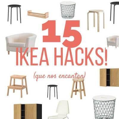 15 formas geniales de transformar muebles de IKEA @handfie - Bekväm, Vilmar, Stuva. No, no son nombres de los protagonistas de una novela nórdica. Pero caliente caliente. Son tres nombres muy populares en las casas europeas, donde los muebles de IKEA son multitud. Tanto, que …