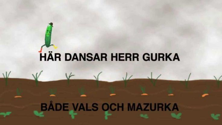 Karaoke: Herr Gurka - sjung med!