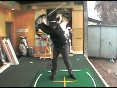 Golf Drill Shoulder Turn Backswing - YouTube