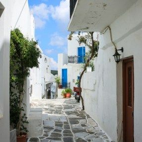paros village greece
