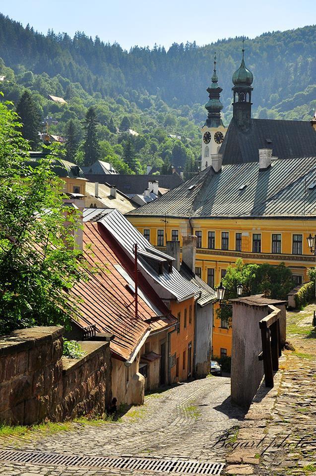 Körmöcbánya, Felvidék, ma Szlovákia területén