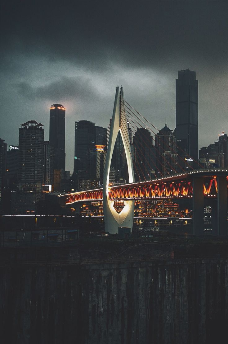 chongqing, china | travel destinations in east asia + city night lights #wanderlust