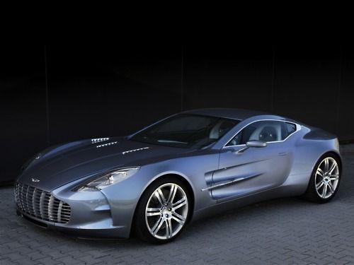 2009 Aston Martin One-77.