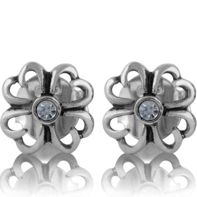 Silver and Some - Evolve - Earrings & Cufflinks, Forget-Me-Not Studs
