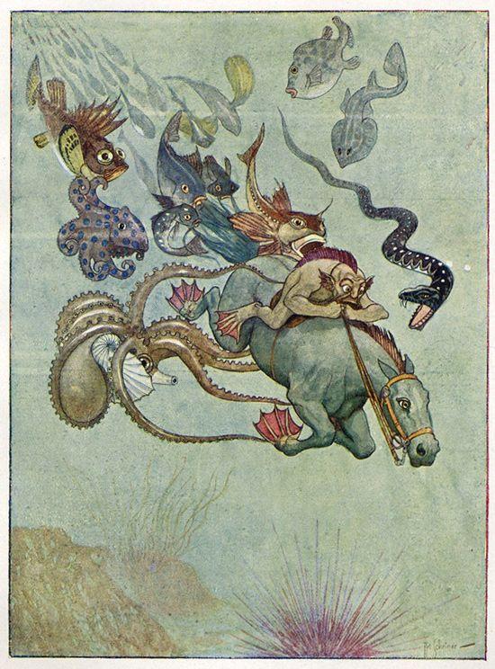 Early-twentieth century illustrations by Artuš Scheiner (1863 Benešov – 1938 Prague)