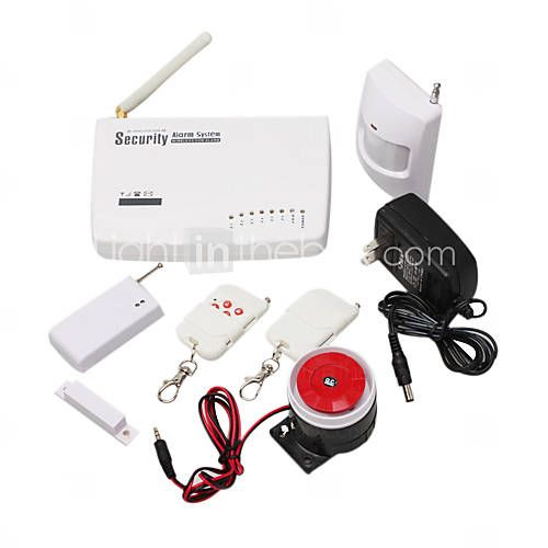 Auto-dial GSM Wireless Home Security Alarm System Kits - $50 - LightInTheBox.com