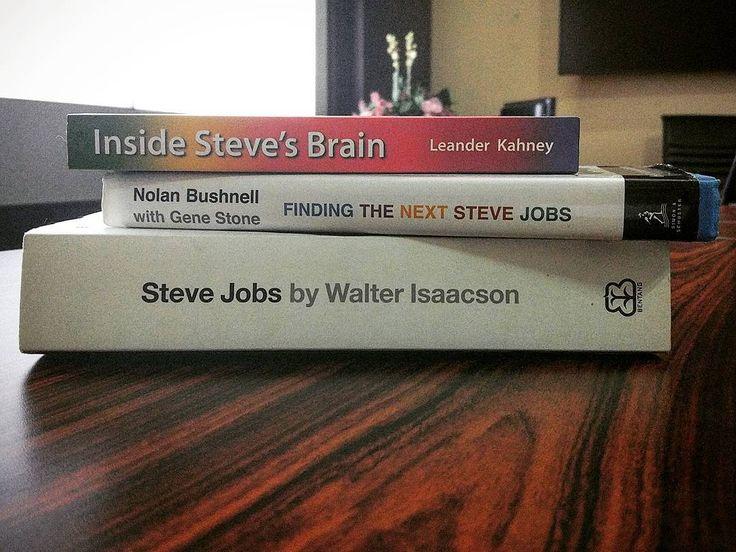 For the next #book #review video. Tema nya #SteveJobs. Sekalian merayakan kelahiran #iPhone7.