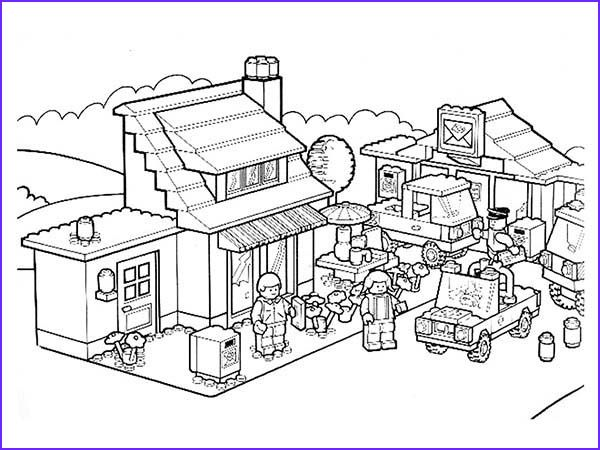 11 Beautiful Lego City Coloring Pages Gallery In 2020 Coloring