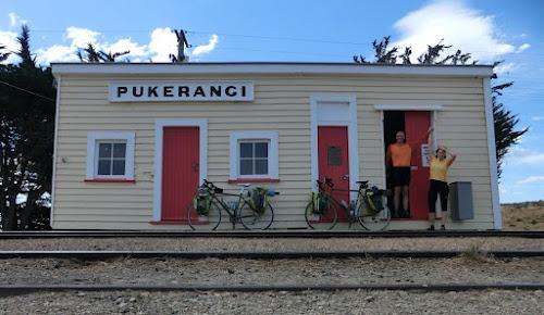 Pukerangi, Taieri Gorge Railway terminus.