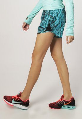 Nike Performance - PRINTED MOD TEMPO SHORT - Korte broeken - dusty cactus/black