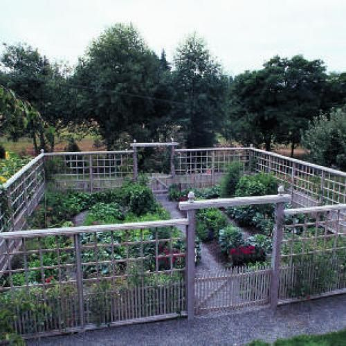 Garden Fencing Ideas cheap garden fence idea the metal mesh is cattle panel strong enough Deer Proof Garden Fence Ideas Sunset