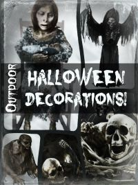 Outdoor Halloween Decorations - Scary Outdoor Halloween Decorations
