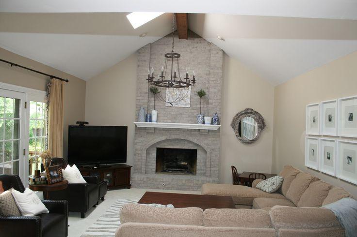 Monograms 'n Mud: Fireplace Reveal & Family Room Updates | Susie ...