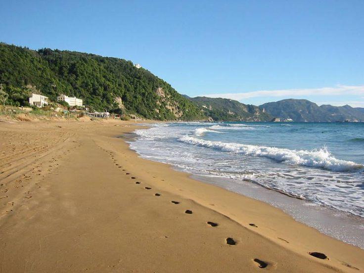 Glyfada beach, Corfu