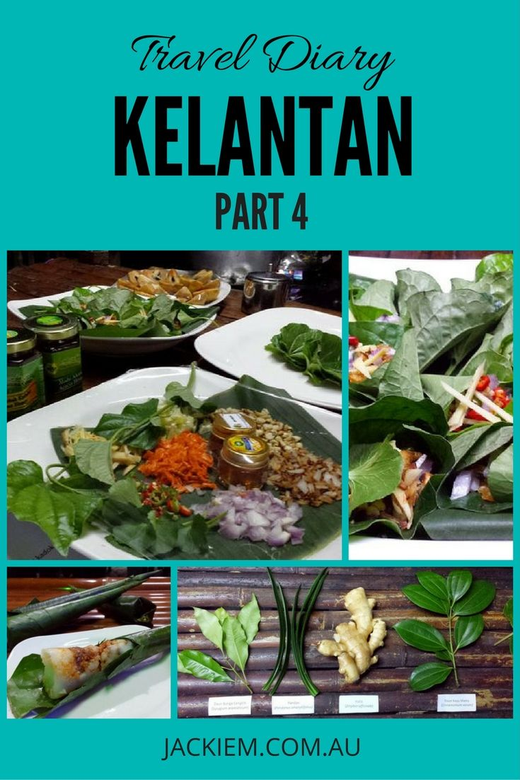 Recipes for Nasi Tumpang, Betel Leaf Bites and Traditional Herb Drink in this 4th installment of Jackie M' Kelantan Travel Diary. Don't forget to subscribe for more recipes and travel tips from Jackie M.