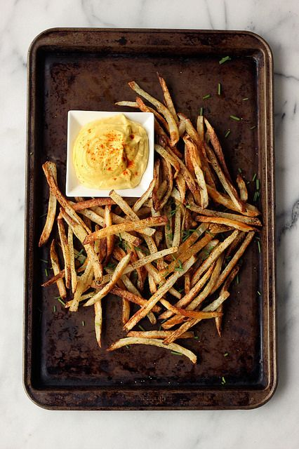 how-to make perfect french fries.