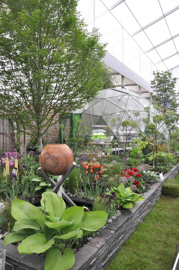 SOLARDOME Haven in green at the RHS Chelsea Flower Show