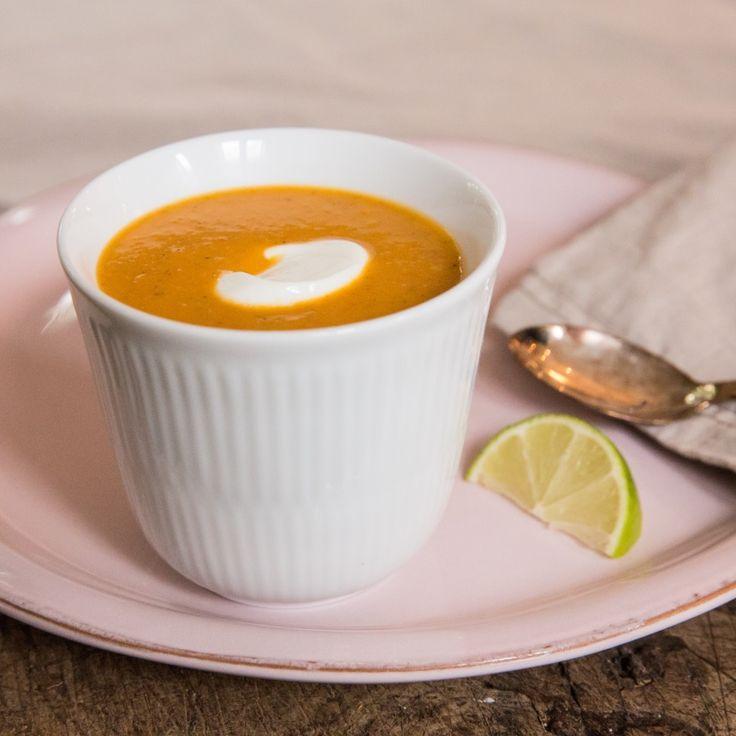 Grøntsagssuppe thai-style