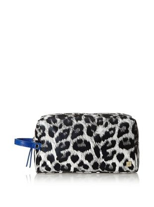 50% OFF Hudson+Bleecker Women's Namibia Mini Dopp Kit, Black/White/Leopard