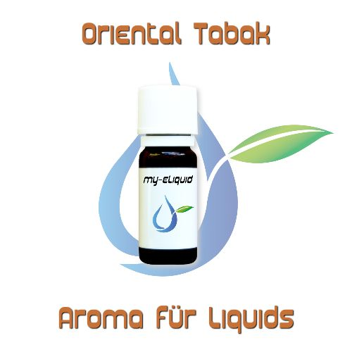 Oriental Tabak Aroma | My-eLiquid E-Zigaretten Shop | München Sendling