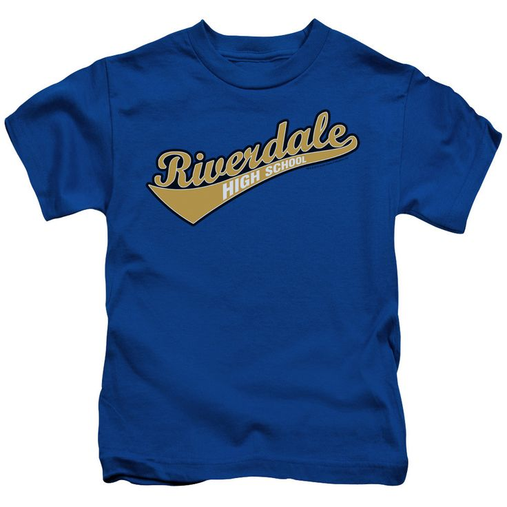 Behold the Archie Comics - Riverdale High School Juvy T-Shirt. Now your little one can be part of the hype with this royal blue colored, officially licensed juvy t-shirt made of 100% pre-shrunk cotton