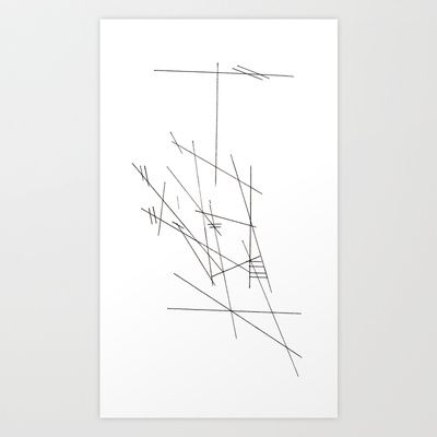 Plan Art Print by Plasmodi - $16.00