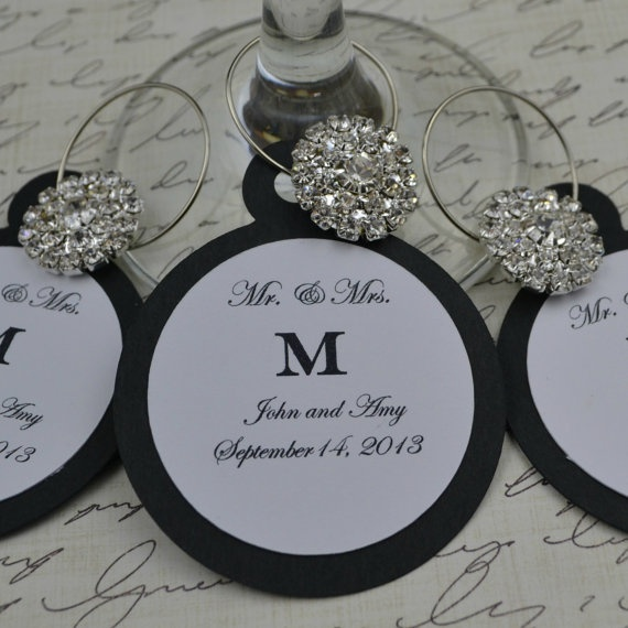customized personalized wine charm favors wedding by tipsydesigns 250 wine charms wedding wine charms wedding favors