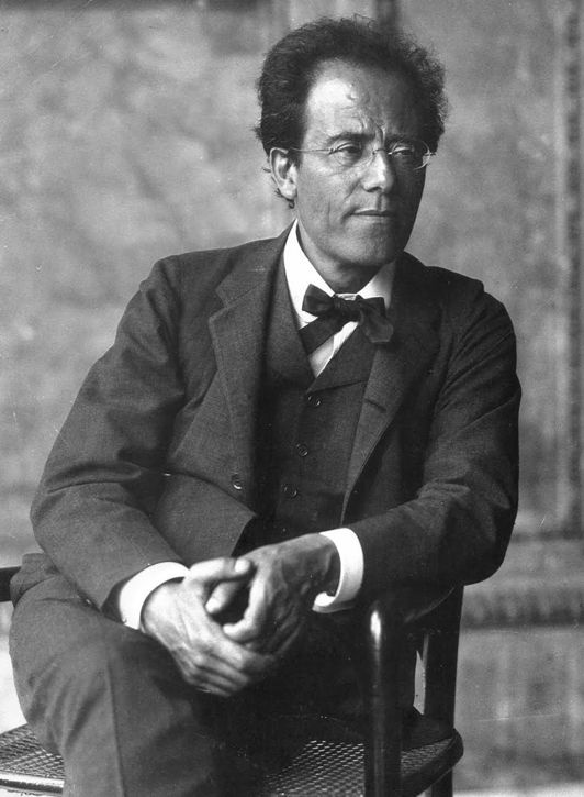 Austria. Composer Gustav Mahler, c. 1910