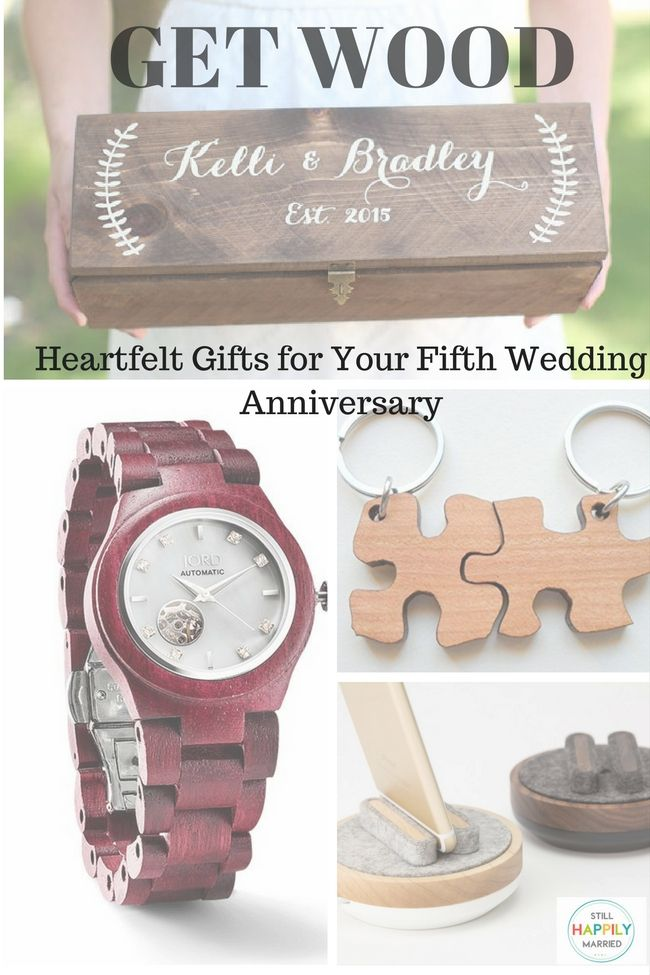 Heartfelt Gifts for Your Five Year Anniversary