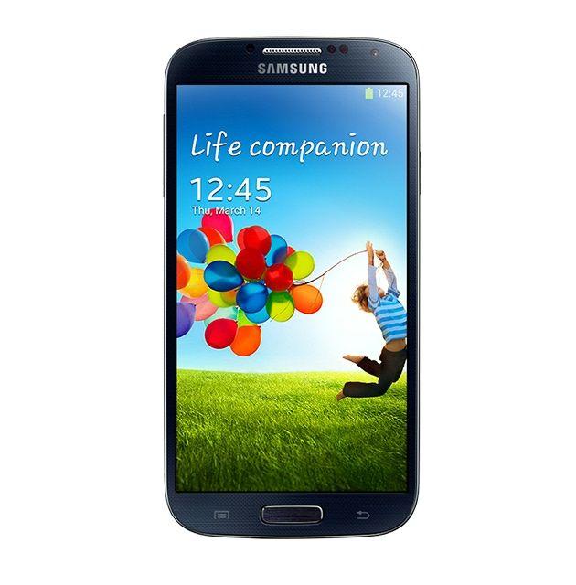 Black Samsung S4.