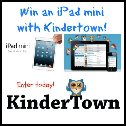 Win an iPad mini with Kindertown!