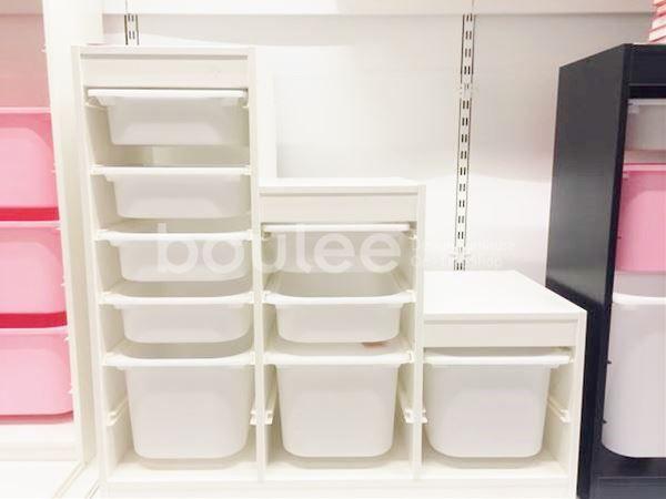 【IKEA通販】収納セット子供部屋TROFASTホワイトイケア送料無料