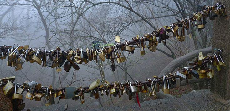 Candados de amor en Hefei - http://www.absolut-china.com/candados-amor-hefei/