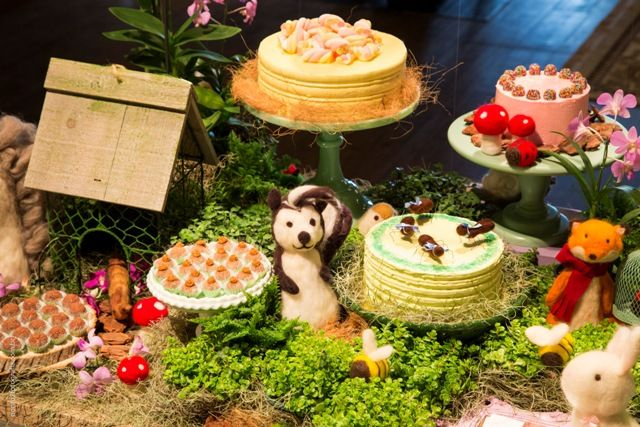 Festa tema Floresta | Macetes de Mãe