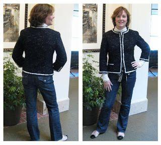 Lindsay T Sews: Details: The Faux Chanel Jacket