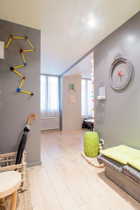 Apartment Montmartre Passage des Cloÿs in Paris, France.