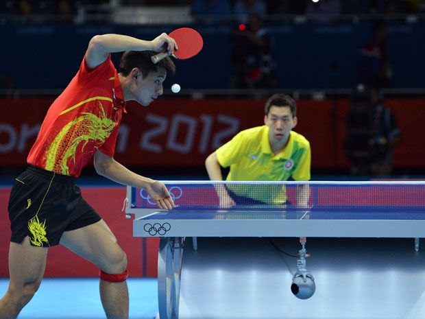 China expected to pick up its second table tennis gold of the Olympics Thursday in London