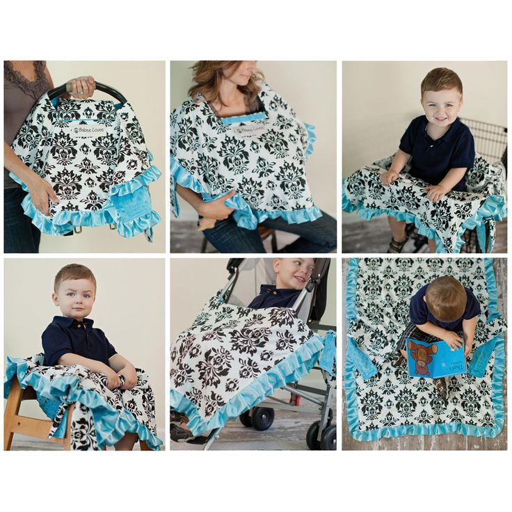 Oh boy this would be the best baby shower gift ever! 6 in 1 baby 'blanket'. Cover for: carseat, highchair, shopping cart, nursing, stroller blanket and playtime blanket.