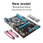 ﹩. PCI Express 16X Mining Main Board Computer Motherboard 6pcs Graphics Card Slot    Compatible CPU Socket Type - LGA 1150/Socket H3, Form Factor - Extended ATX, Capacity per Module - 64MB, Memory Type - DDR3, Input/Output Ports - SATA III, Features - Multi-GPU Support, Video card - Integrated graphics card,