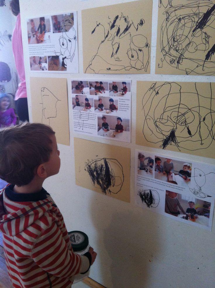 Children use documentation to reflect on and direct their work @ Garden Gate Child Development Center