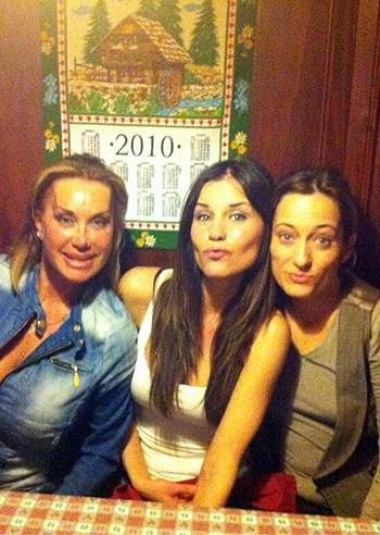 Antonella Mosetti, a cena con le 'bad girl'