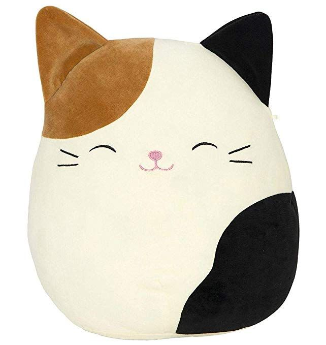 Squishmallow Cameron The Cat Pillow Stuffed Animal Tricolor 16review Animal Pillows Monkey Stuffed Animal Cat Pillow