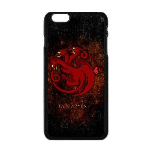 Game of thrones Targaryen Dragon wyvern Apple Iphone 6 plus case.  #accessories #case #cover #hardcase #hardcover #skin #phonecase #iphonecase #iphone6plus #iphone6pluscase #dezignercase