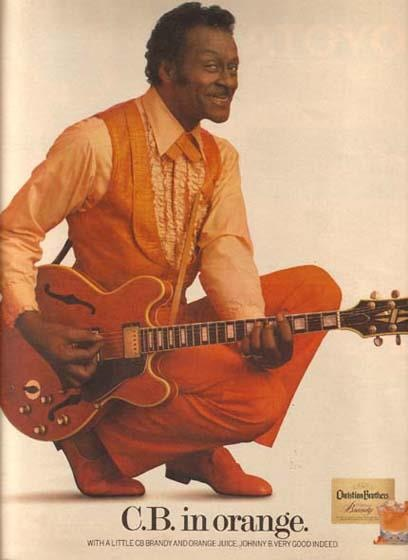 Chuck Berry for Christian Brothers Brandy
