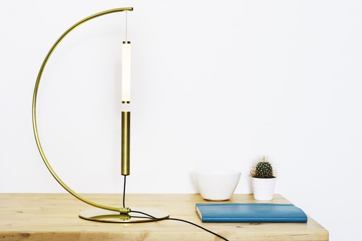 EQUILIBRIO desk version consists of two symmetric tubes. A ring magnet is placed at the end of each tube. When the two ends are close, the magnetic force is strong enough to challenge gravity, letting the lamp magically floats in the air, in a constant state of equilibrium. GET READY FOR KICKSTARTER CAMPAIGN! www.olivelab.it