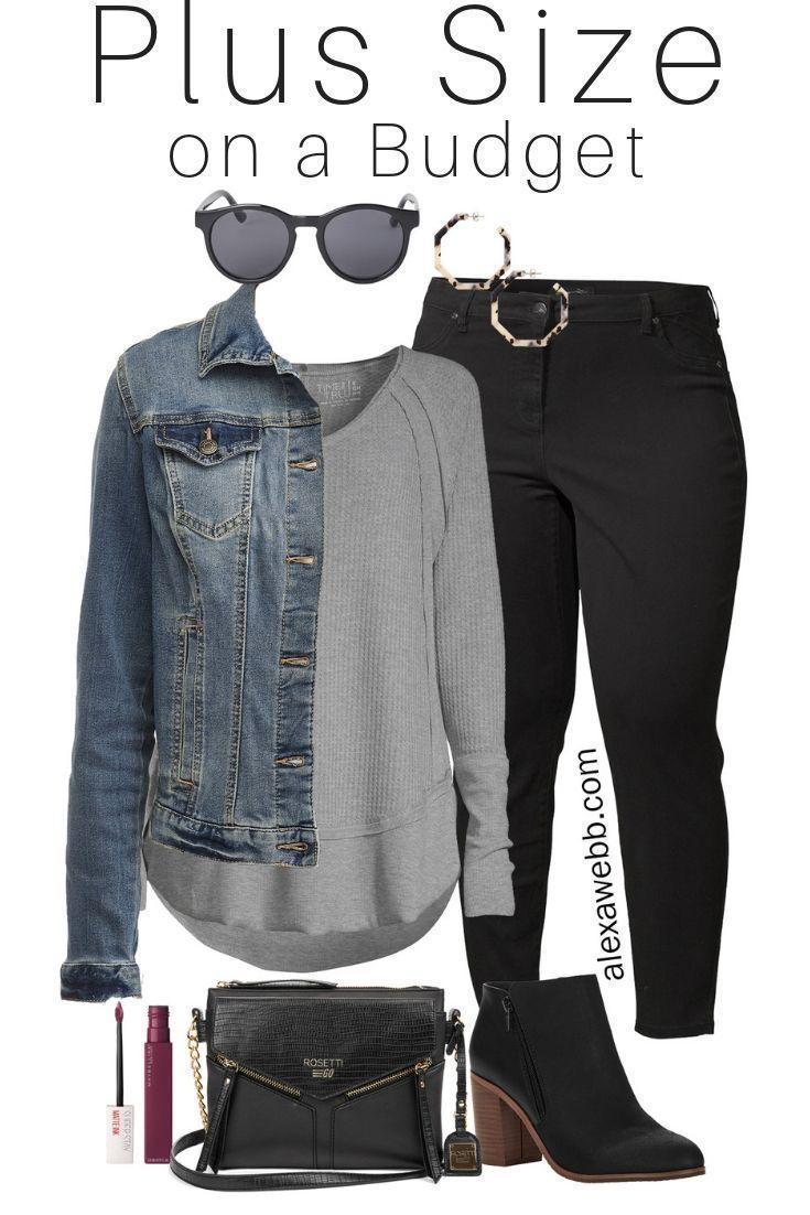 Plus Size on a Budget – Black Jeans