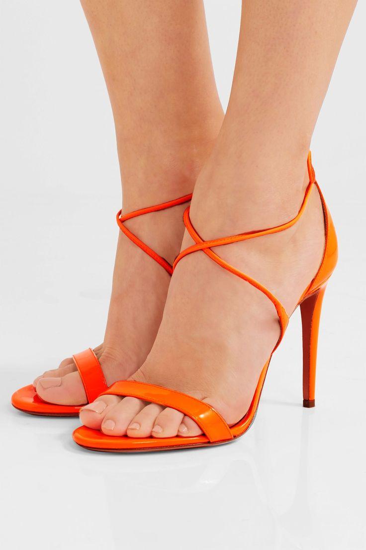 Aquazzura Linda patent-leather sandals