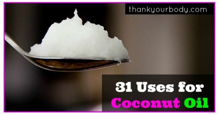 31 of My Favorite Uses for Coconut Oil...I keep coconut oil mixed with a few drops of essential oil in my shower.  Double plus awesome.