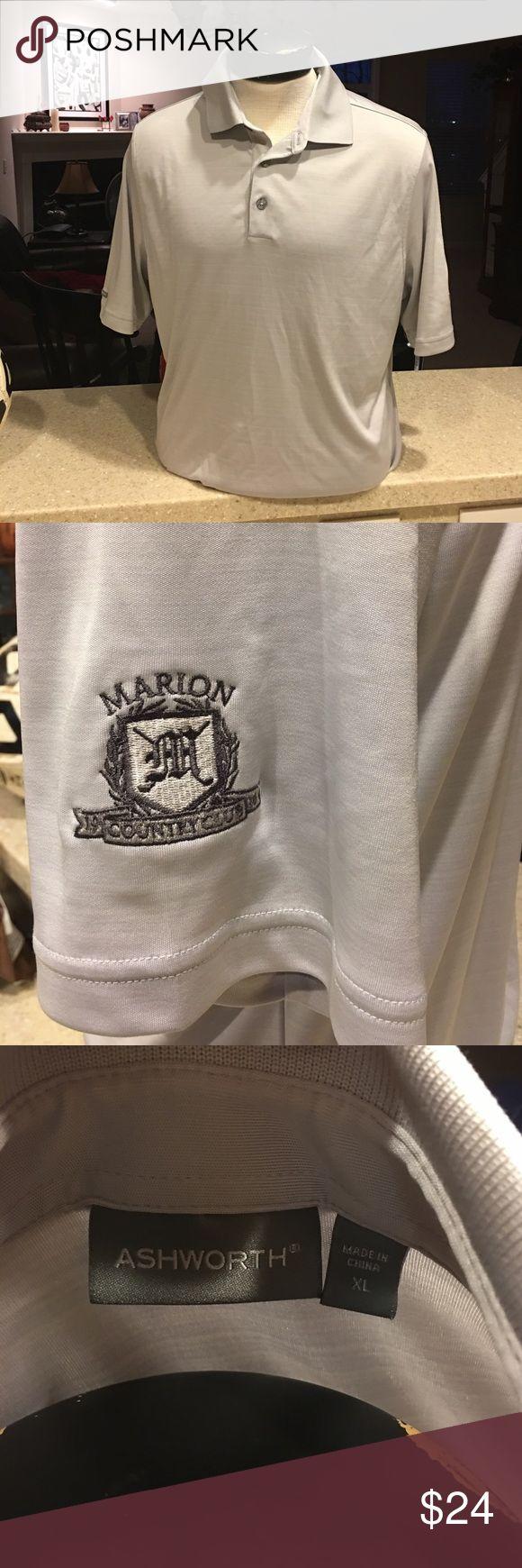 Ashworth men's extra large golf shirt Ashworth extra large men's golf shirt Marion country club Wore once ashworth Shirts Polos