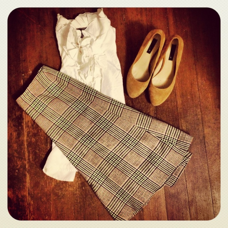 We love this Goodwill outfit!